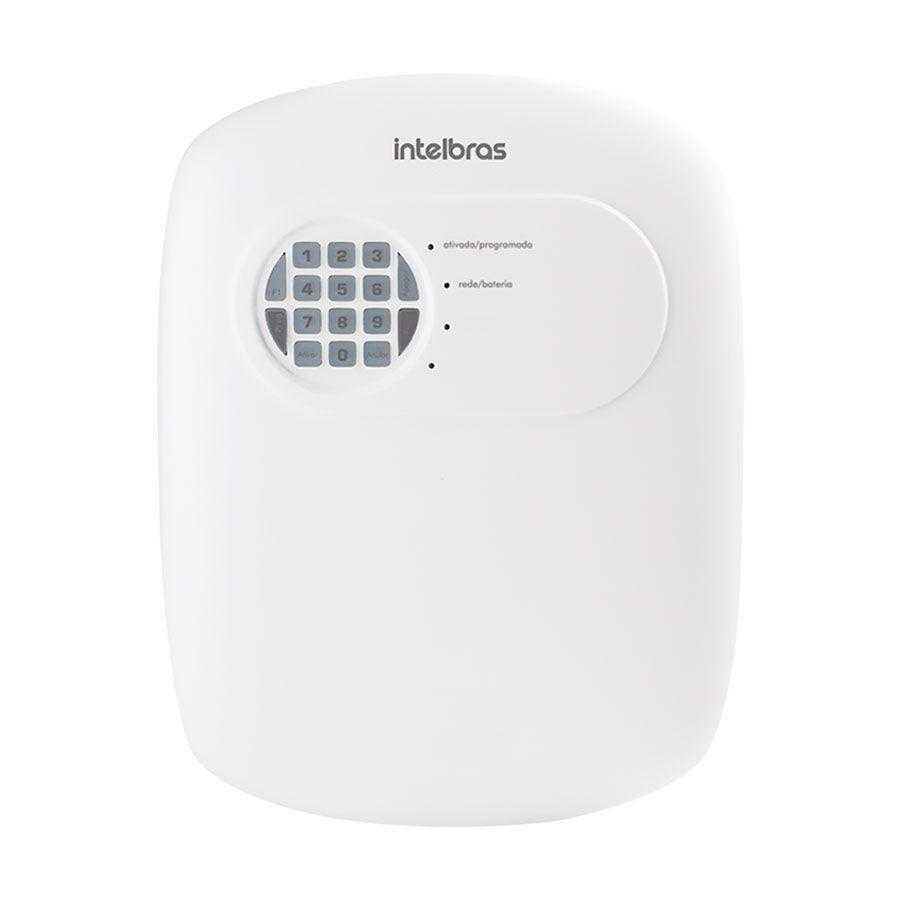 Central de Alarme Sem Fio Intelbras ANM 3008 ST, Alarme não monitorado com 8 zonas, Via linha telefônica, 8 Partições independente, Controle Remoto, Discadora  - Tudo Forte