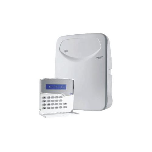 Central de Alarme 10 Setores Monitorado TEM HERON-850, Discadora de Linha Embutida - Compatível com Paradox e Posonic  - Tudo Forte