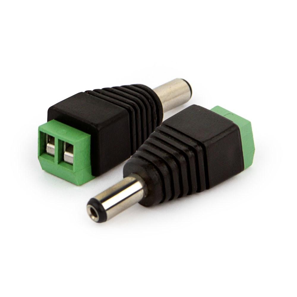 Conector Plug P4 Macho com Borne  - Tudo Forte