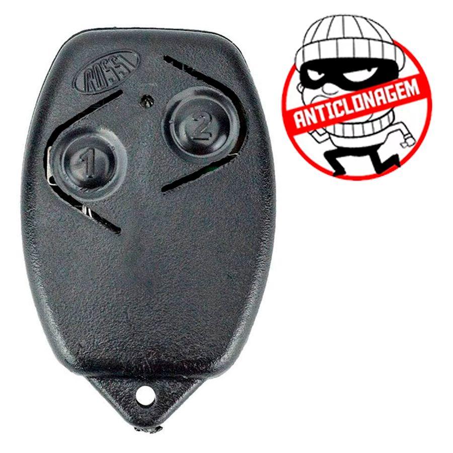Controle Remoto Rossi Portão Eletrônico TX 433 MHz HCS FS  - Tudo Forte