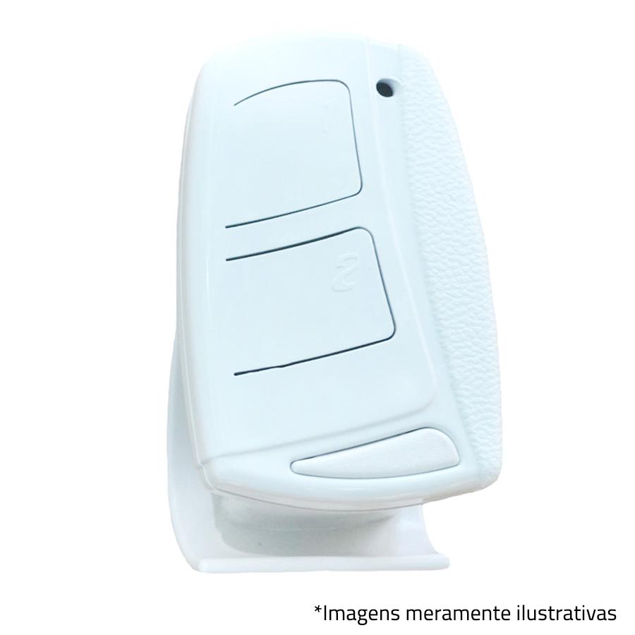 Controle Remoto TOP SAW 433,92M Branco Ipec, Alarme, Portão Eletronico