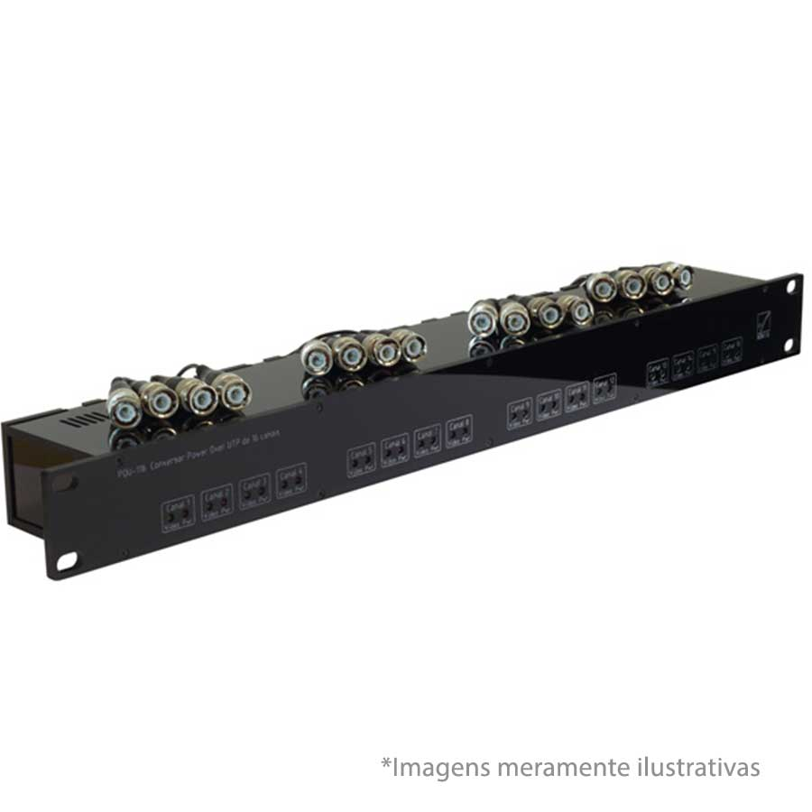 Conversor Power over UTP Clano POU-116/P