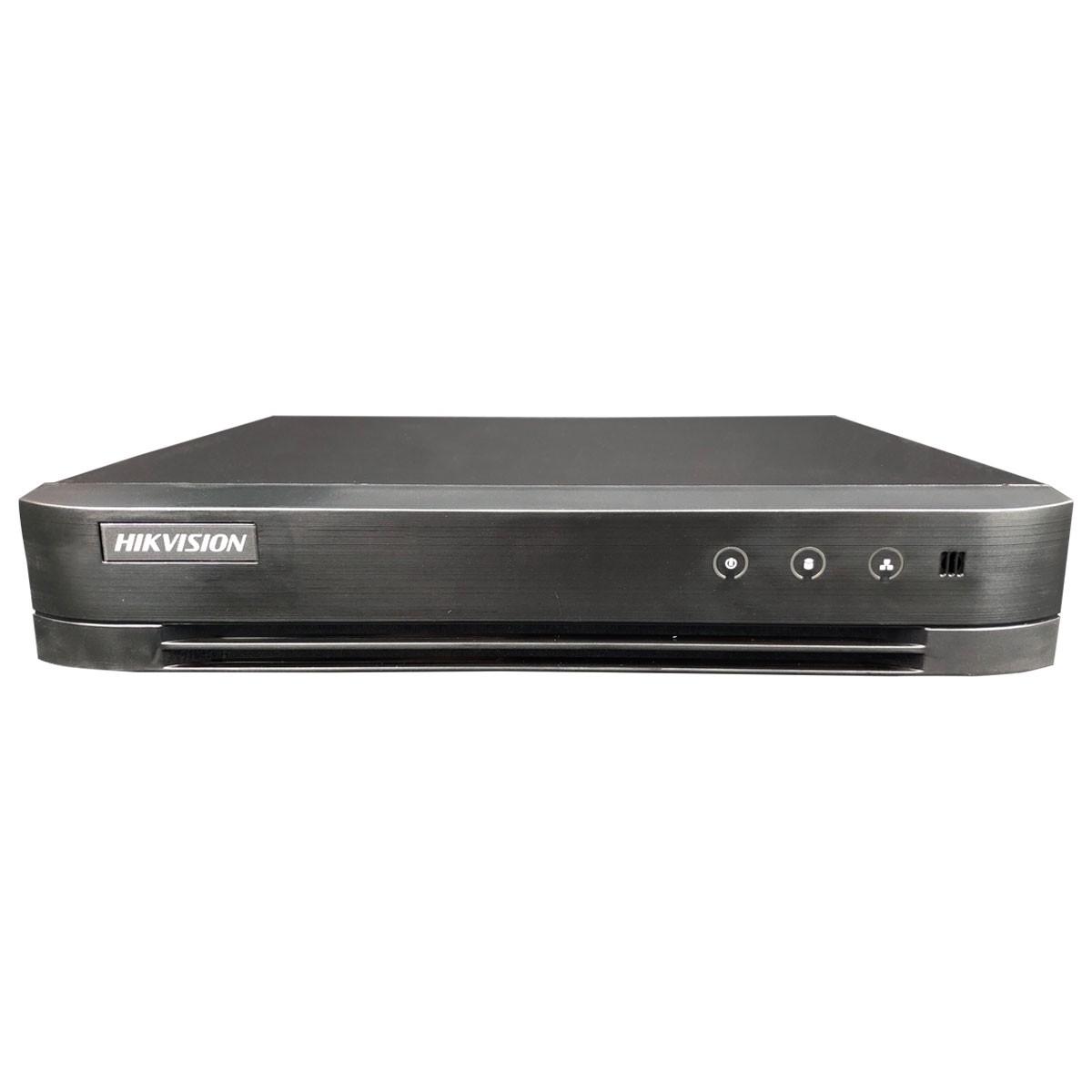 DVR Hikvision de16 Canais 1080N Turbo HD DS-7216HGHI-K1  - Tudo Forte