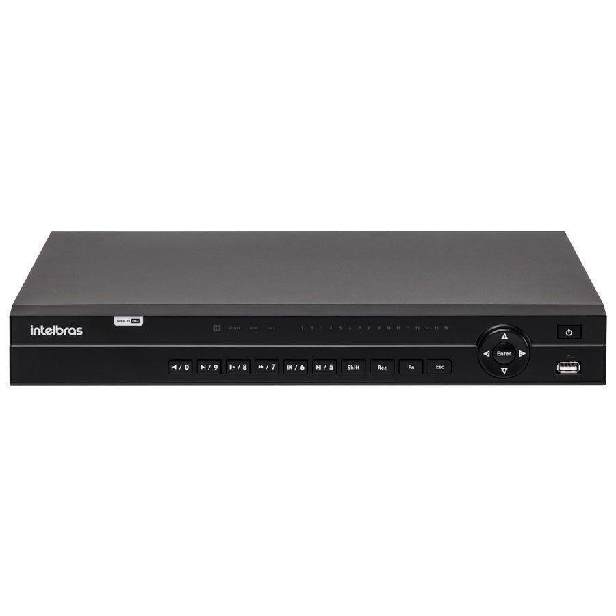 DVR Intelbras 32 canais MHDX 1132 HD 720p Visualiza 1080p Lite  - Tudo Forte