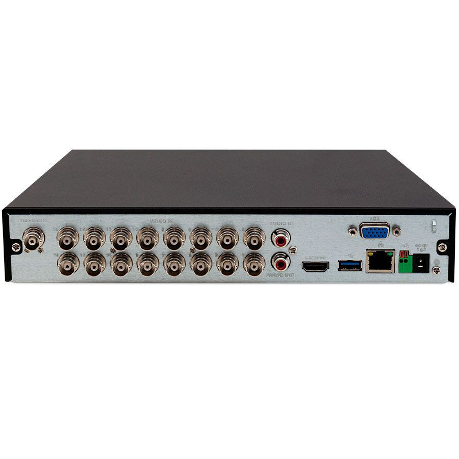 DVR Intelbras 16 Canais Full HD MHDX 3116 1080p Multi HD + 8 Canais IP 5 Mp