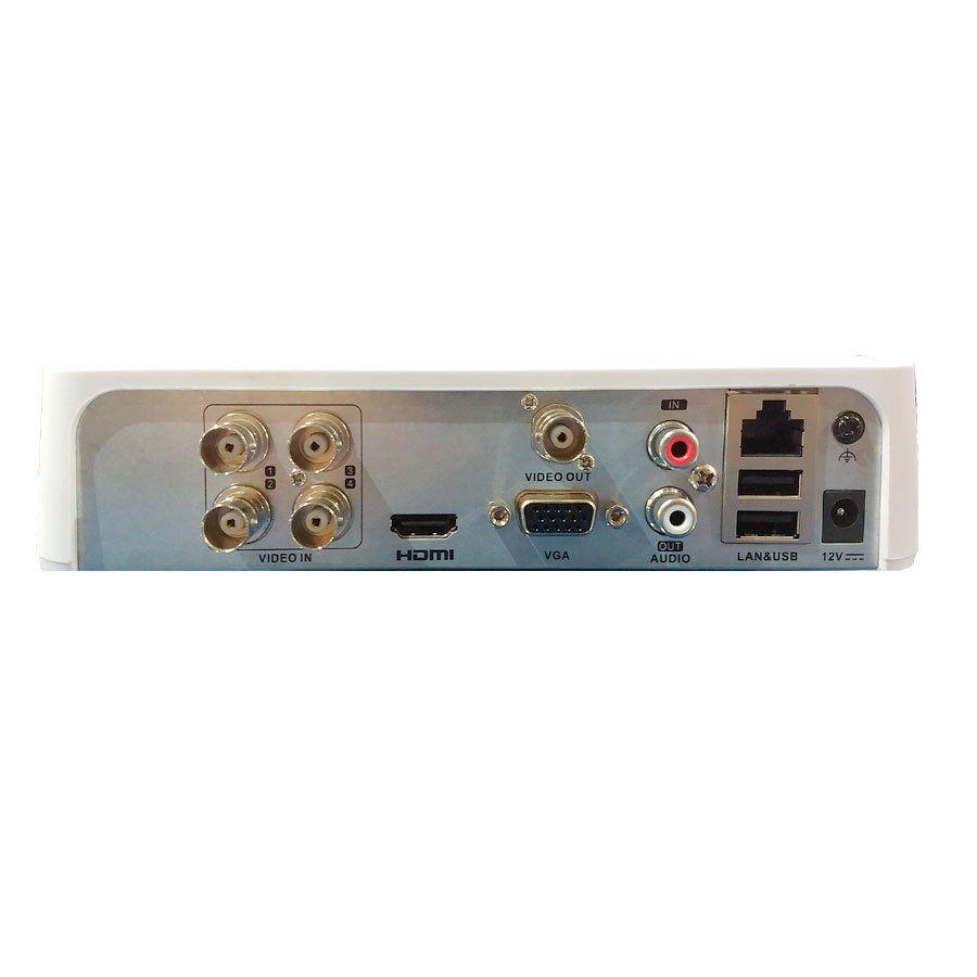 DVR JFL 4 Canais Full HD DHD 3304, HDTVI, HDCVI, AHD, ANALÓGICO, IP