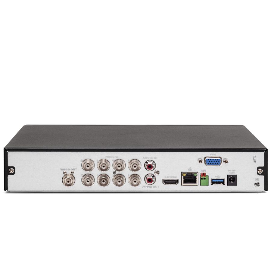 DVR 08 Canais Intelbras 4K MHDX 5108 8MP + HD WD Purple 2TB