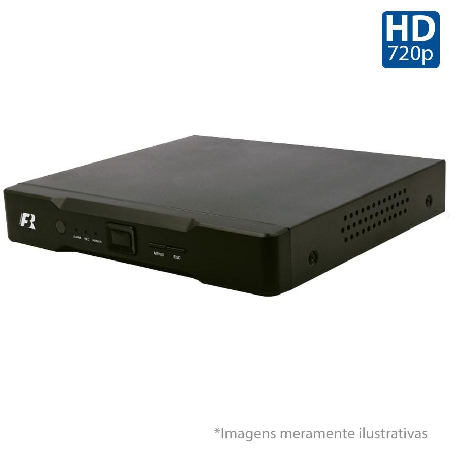 DVR Stand Alone 4 em 1 Focusbras HB5-1M08 - 8 Canais 1080N HDTVI, AHD, ANALÓGICO ou 8 Canais IP Full HD