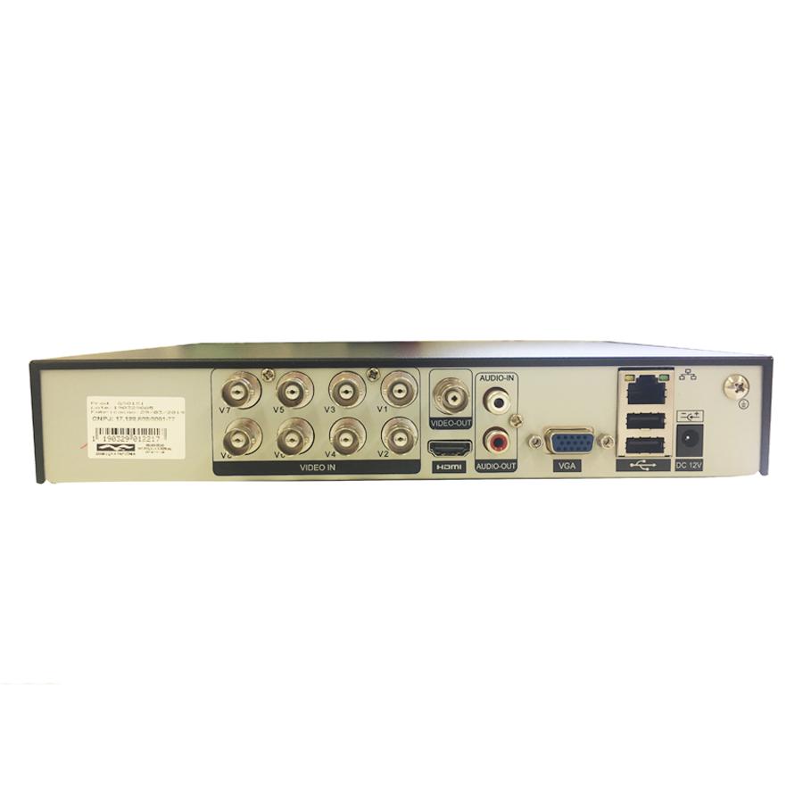DVR Stand Alone 8 Canais Giga GS0181 - 2MP Full HD 1080p