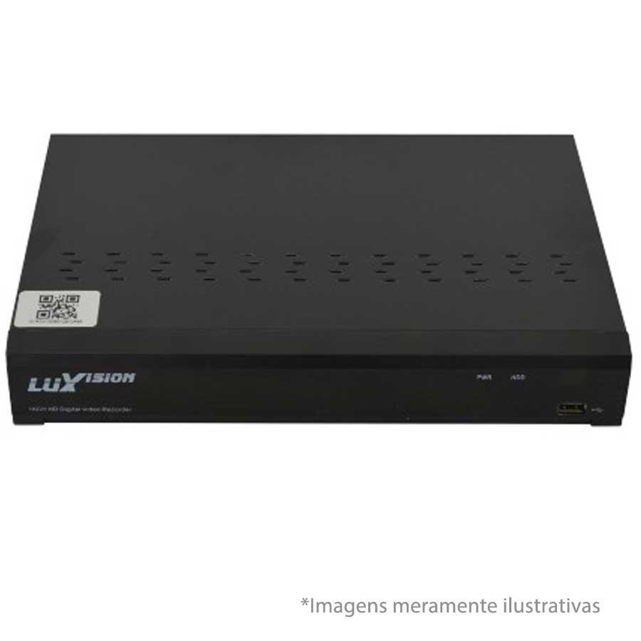 DVR Stand Alone All HD 5 em 1 Luxvision ECD 16 Canais - AHD/ HDTVI / HDCVI / IP / Analógico