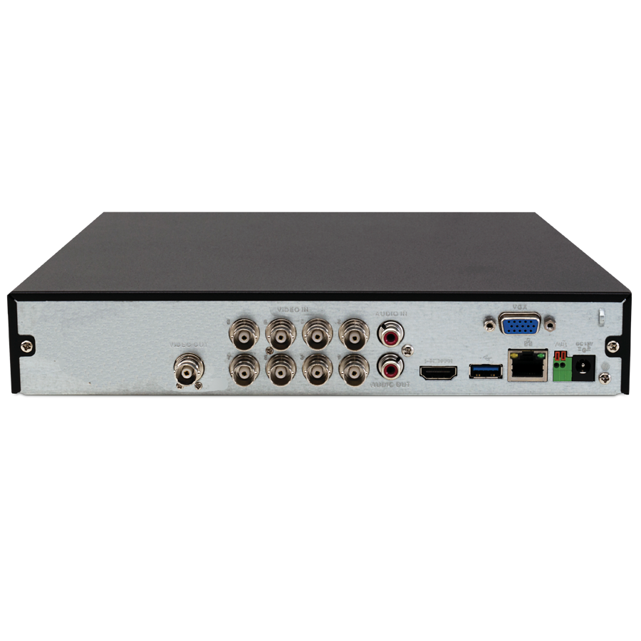 DVR Stand Alone Intelbras MHDX 3108 08 Canais Full HD 1080p Multi HD + 04 Canais IP 5 Mp + HD WD Purple 3TB
