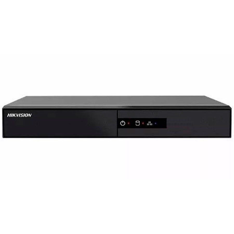 DVR Stand Alone Hikvision 4 Canais 1080N DS-7204HGHI-F1, HDCVI, HDTVI, AHD, ANALÓGICO