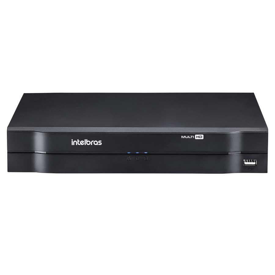 DVR Stand Alone Multi HD Intelbras MHDX-1104 - 4 Canais 1080p Lite + 1 Canal 2mp IP  - Tudo Forte