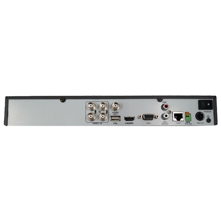 DVR Stand Alone Turbo HD 5 em 1 Full HD 1080p Hikvision 4 Canais - AHD/ HDTVI / HDCVI / IP / Analógico DS-7204HQHI-F1N