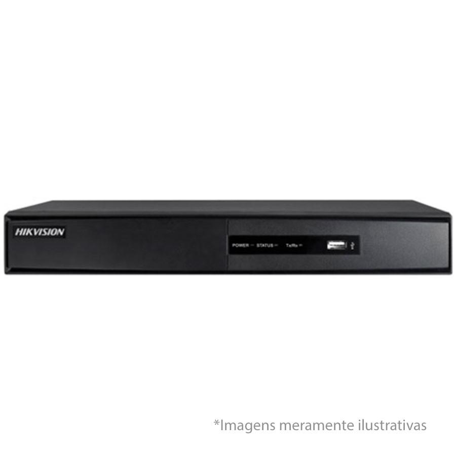 DVR Turbo HD 5 em 1 Full HD 1080p Hikvision 8 Canais DS-7208HQHI/F1N - AHD/ HDTVI / HDCVI / IP / Analógico