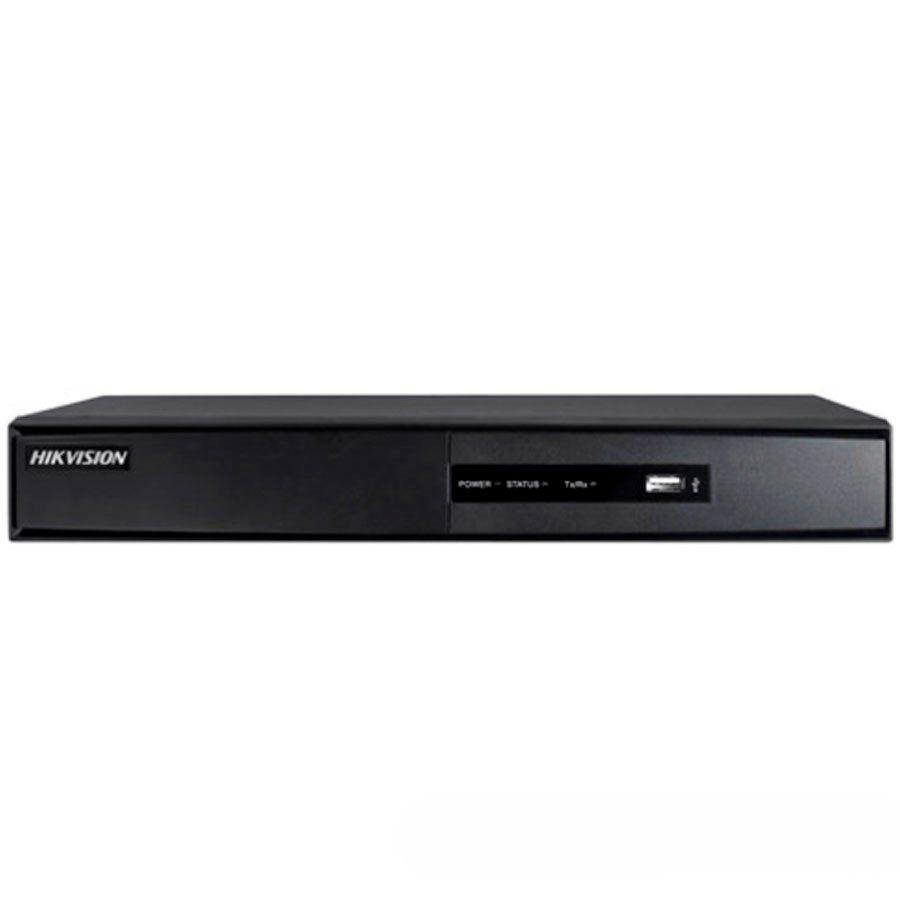 DVR Stand Alone Turbo HD 5 em 1 Hikvision 08 Canais - AHD/ HDTVI / HDCVI / IP / Analógico DS-7208HGHI-F1  - Tudo Forte