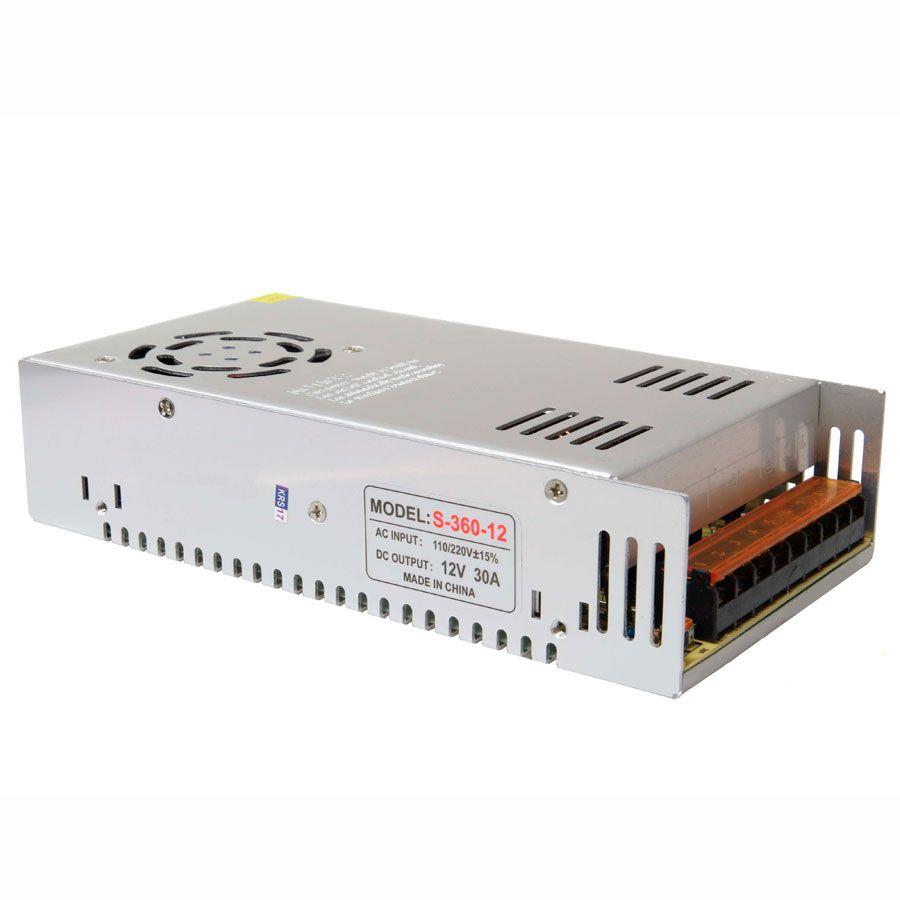 """Fonte 30A 12V Tipo """"Colmeia"""" Ideal para CFTV  - Tudo Forte"""