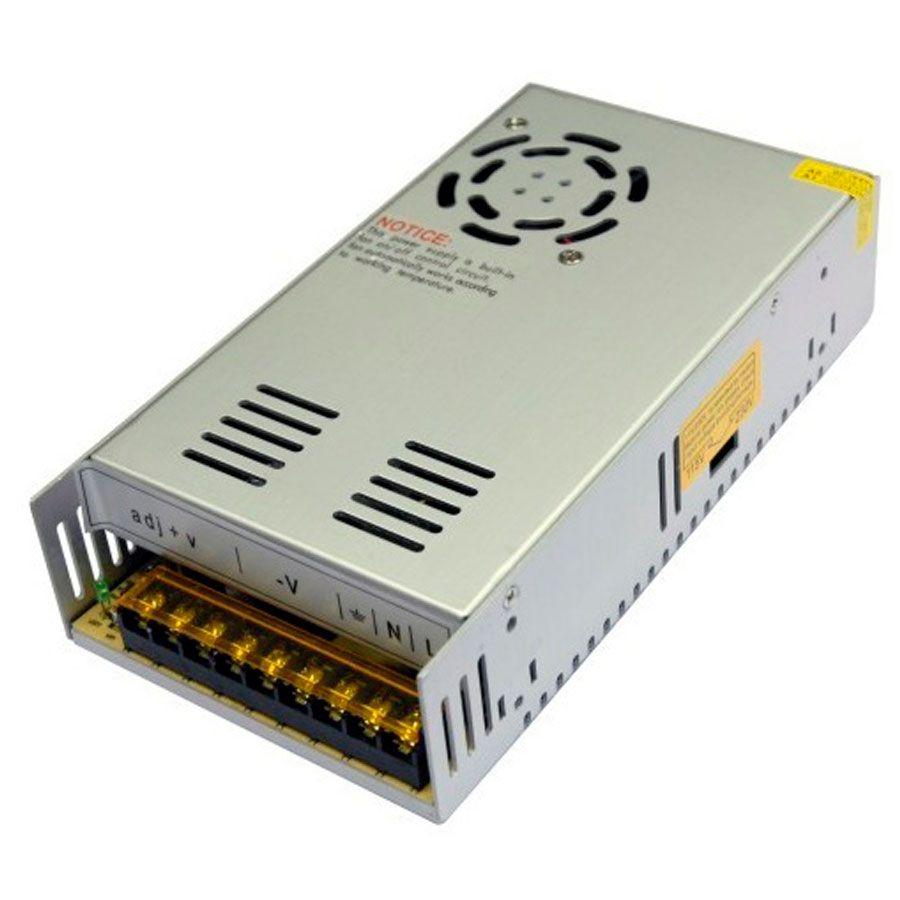 """Fonte 30A 12V Tipo """"Colmeia"""" Ideal para CFTV"""