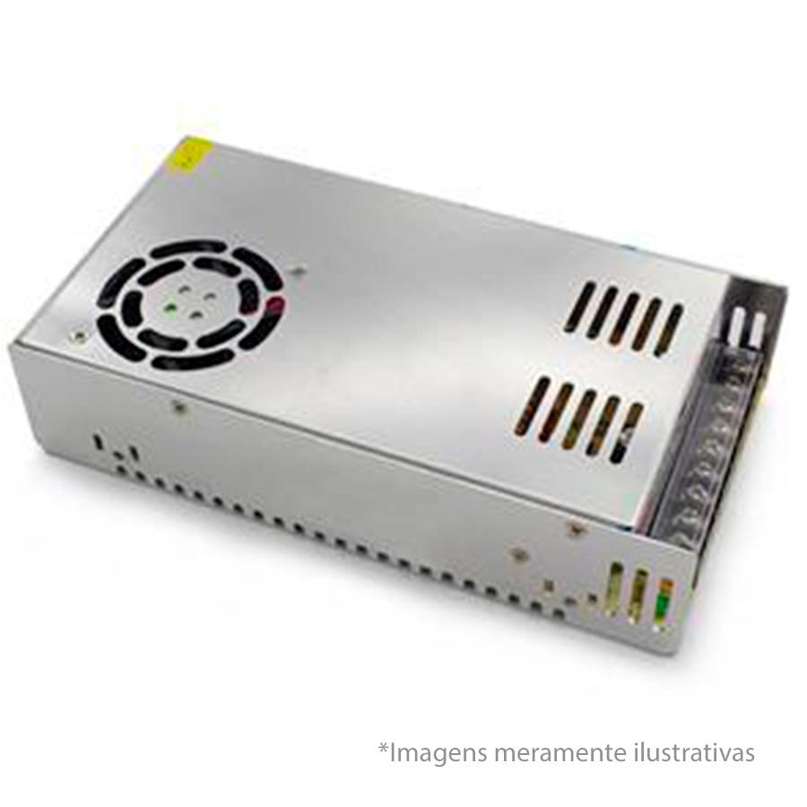 Fonte Chaveada 12V 20A Tipo Colméia, Ideal para CFTV  - Tudo Forte