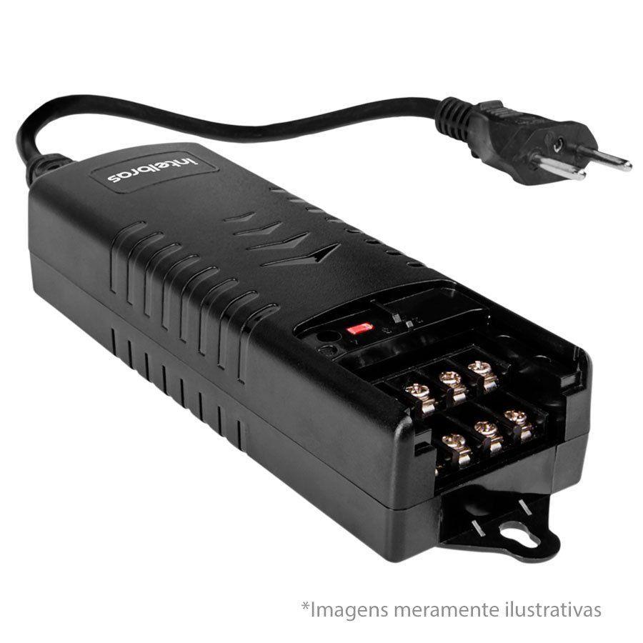 Fonte de Alimentação Multissaídas 03A 12V Intelbras EF 1203+ Multiuso