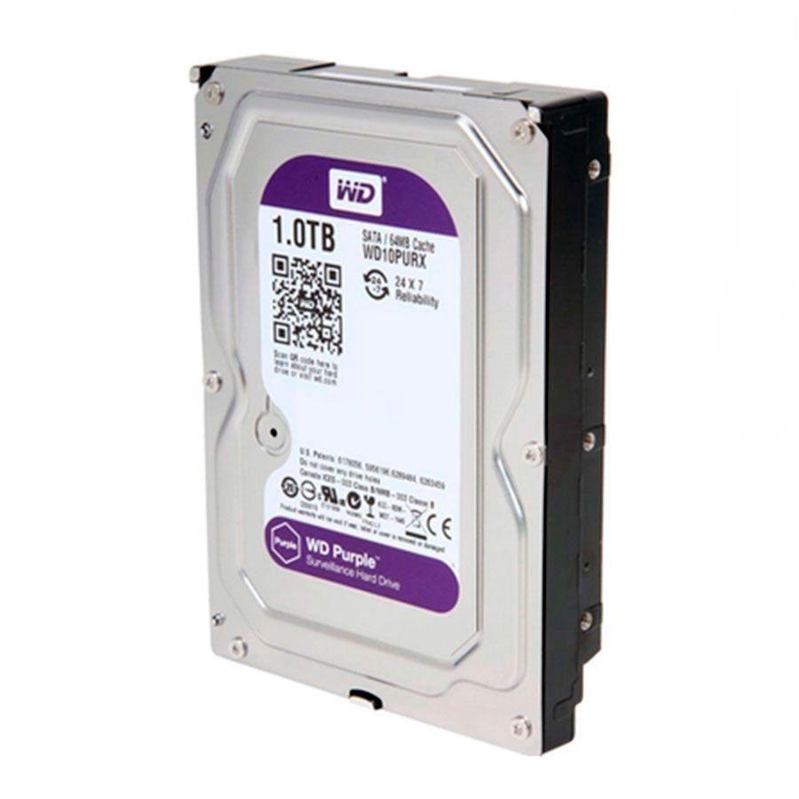 HD Interno WD Purple 1TB Surveillance SATA III 6GB/s 5400 RPM WD10PURX