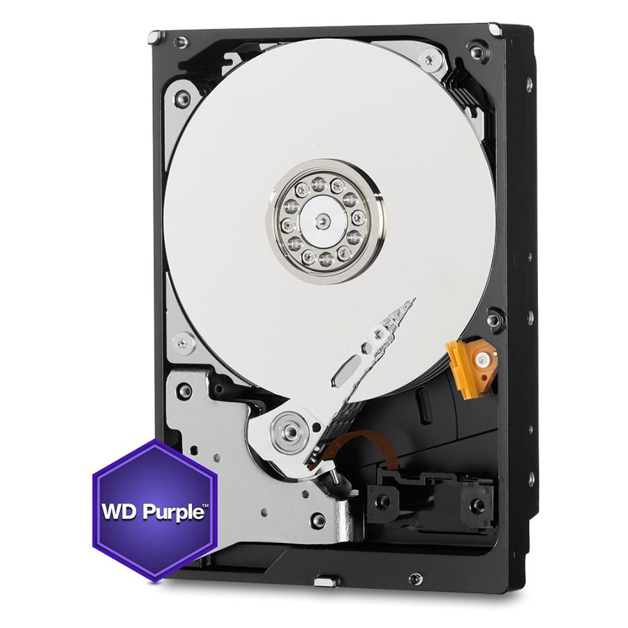 HD Interno WD Purple 6TB Surveillance SATA III 6GB/s 5400 RPM WD60PURZ