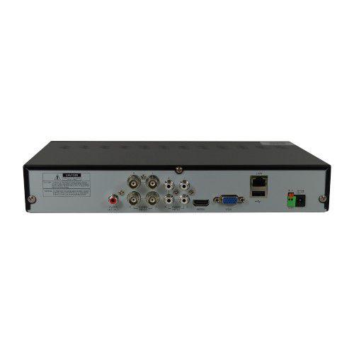 DVR Stand Alone Híbrido AHD-H Tecnologia ECD 4 Canais Full HD 1080p High Definition - Luxvision  - Tudo Forte