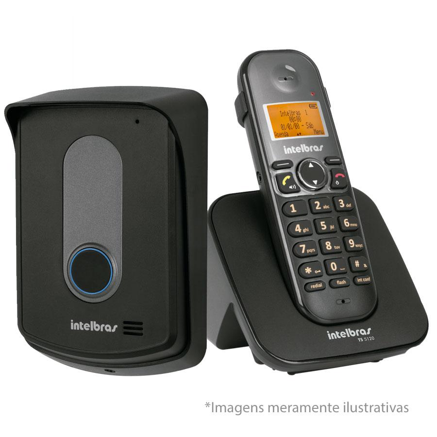 Interfone Porteiro Residencial Sem Fio TIS 5010 Intelbras