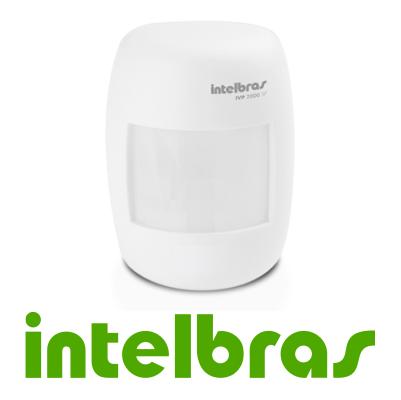 Sensor de Presença Infravermelho IVP 2000 SF Intelbras Sem Fio 2 níveis de sensibilidade, Cobertura com ângulo de 115° e Alcance de 12m