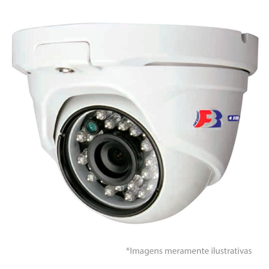 Kit 04 Câmeras de Segurança Dome HD 720p Focusbras + DVR Intelbras Multi HD + HD para Gravação 1TB + Acessórios