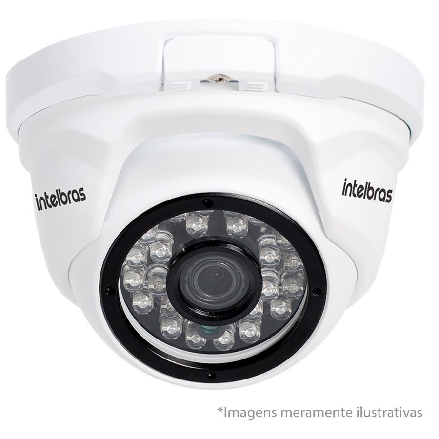 Kit 08 Câmeras de Segurança IP 1Mp HD 720p Intelbras VIP 1120 D + NVD 1108 Intelbras, NVR, HVR + HD WD Purple 1TB