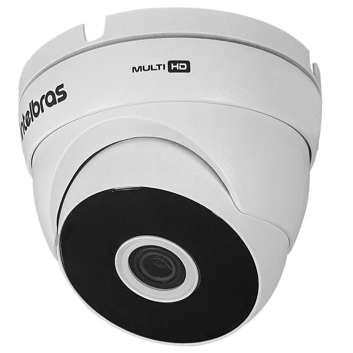 Kit 10 Câmeras VHD 3220 D G5 + DVRIntelbras + HD 1TB para Armazenamento + App Grátis de Monitoramento, Câmeras Full HD 1080p 20m Infravermelho de Visão Noturna Intelbras + Fonte, Cabos e Acessórios  - Tudo Forte