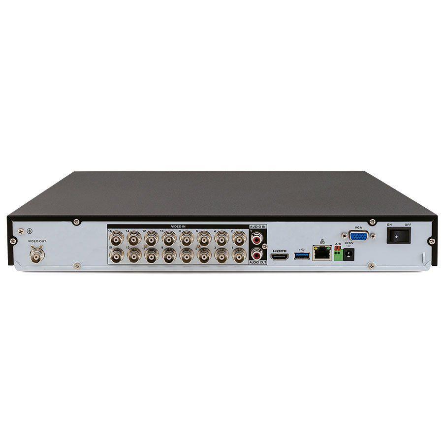 Kit 12 Câmeras de Segurança 4MP 2k Intelbras VHD 3430 B + DVR Intelbras 4K + HD WD Purple + Acessórios