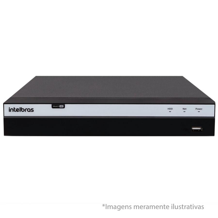 Kit 12 Câmeras de Segurança Full HD 1080p VHD 1220B IR + DVR Intelbras Full HD + HD WD Purple 1TB + Acessórios