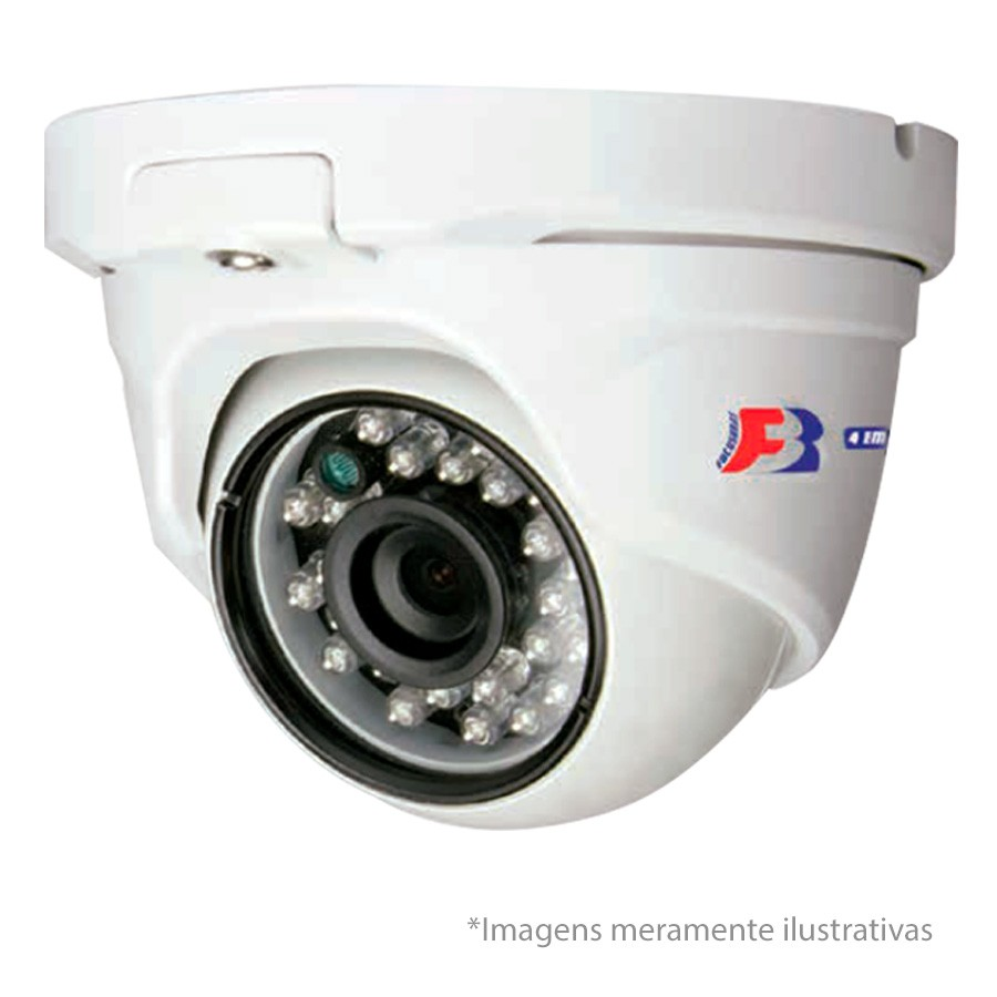 Kit 16 Câmeras de Segurança Dome HD 720p Focusbras + DVR Intelbras Multi HD + HD para Gravação 1TB + Acessórios