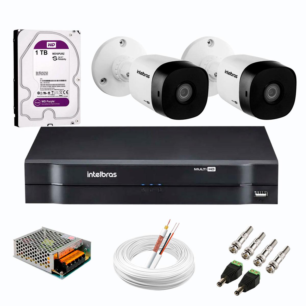 kit-2-cameras-intelbras-vhd-1220-b-full-hd-1080-lite-dvr-intelbras-acessorios-completo-cameras-com-20m-infravermelho-de-visao-noturna