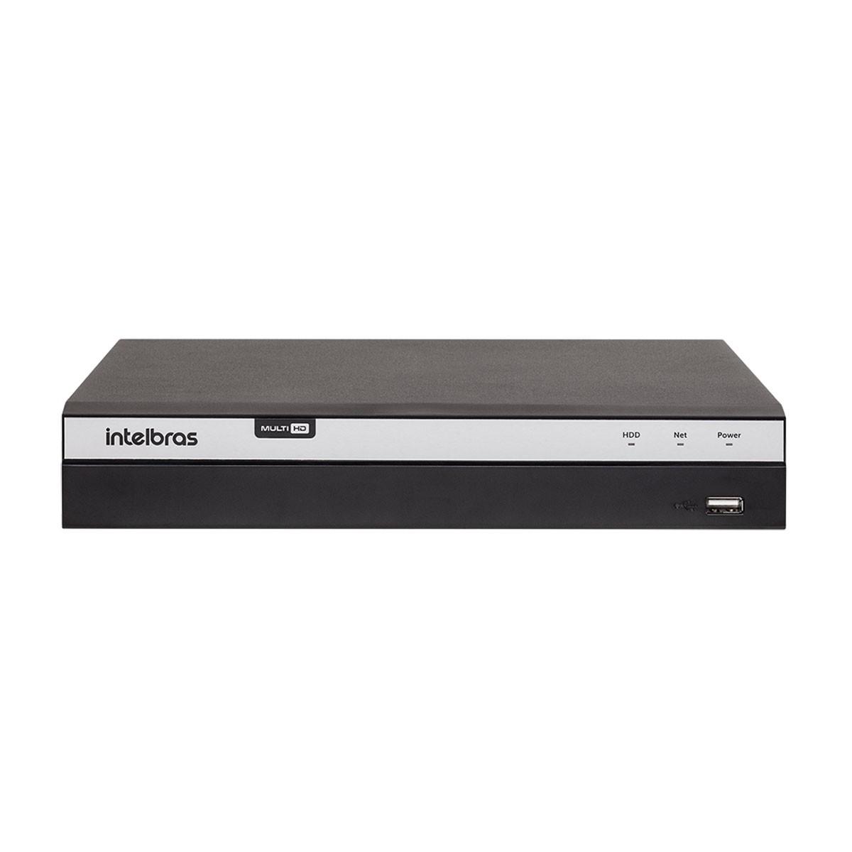 Kit 2 Câmeras de Segurança Full HD 1080p VHD 3230B G4 + DVR Intelbras Full HD + HD WD Purple 1TB + Acessórios  - Tudo Forte