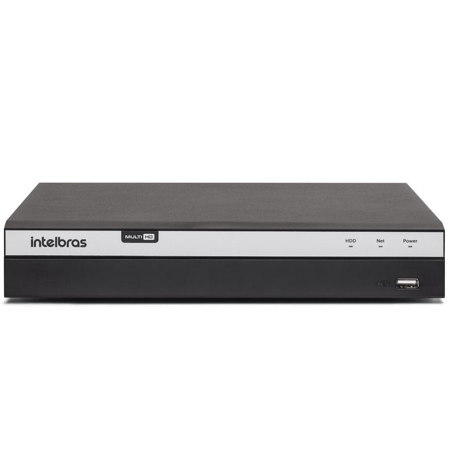 Kit 3 Câmeras de Segurança 4MP 2k Intelbras VHD 3430 B + DVR Intelbras 4K + Acessórios  - Tudo Forte