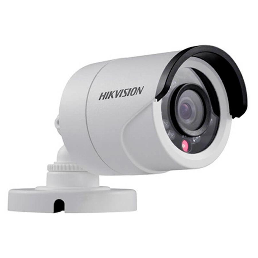 Kit 3 Câmeras de Segurança HD 720p Hikvision 10 metros + DVR Hikvision + Acessórios  - Tudo Forte