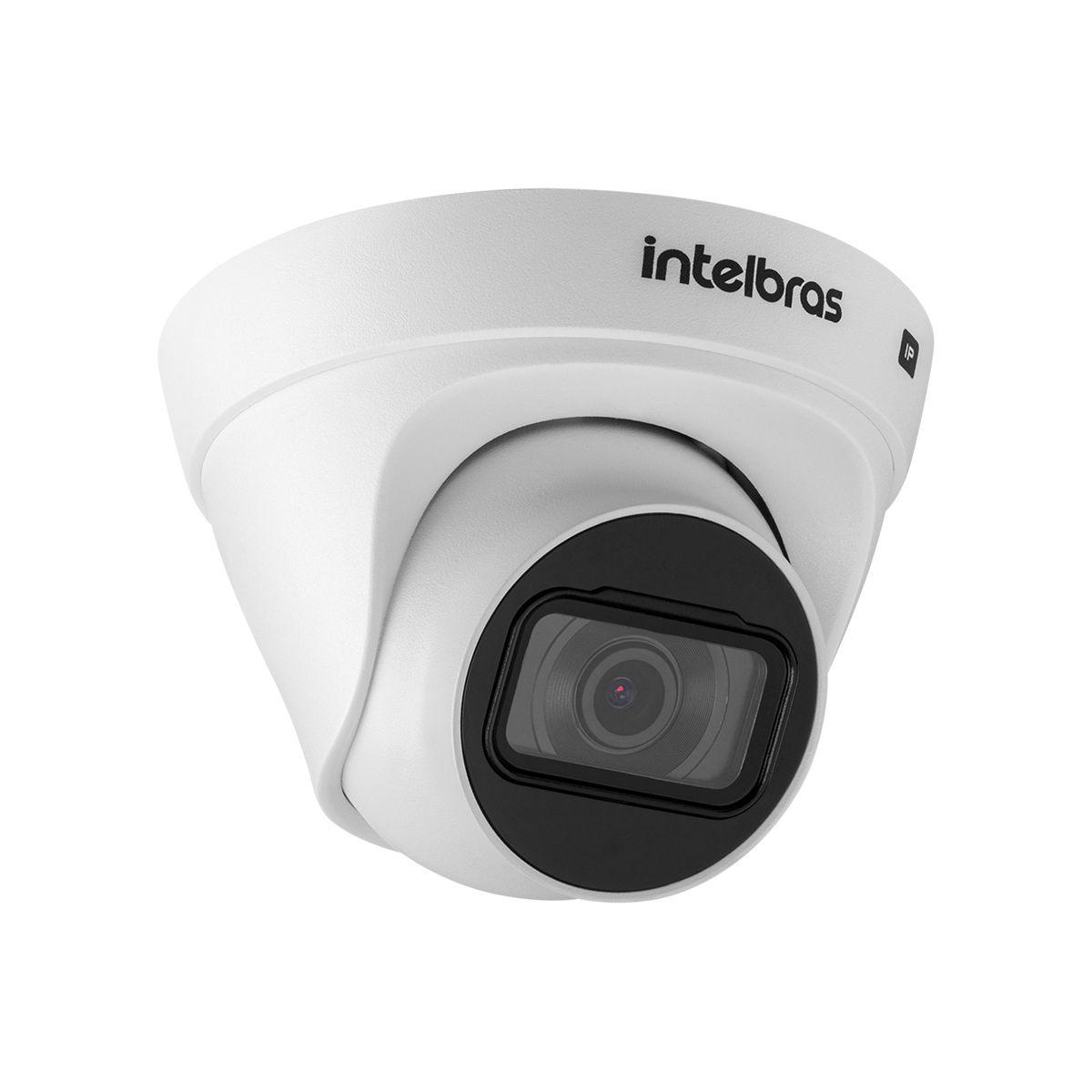 Kit 3 Câmeras VIP 1020 D G2 + NVR Intelbras + HD 1TB para Armazenamento + App Grátis de Monitoramento, Câmeras HD 720p 20m Infravermelho de Visão Noturna Intelbras + Fonte, Cabos e Acessórios  - Tudo Forte