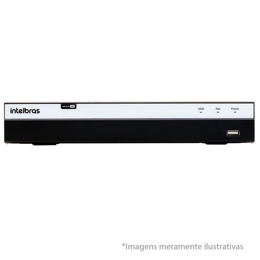 Kit 4 Câmeras de Segurança Full HD 1080p QCB 236 Tecvoz + DVR Intelbras Full HD + Acessórios  - Tudo Forte