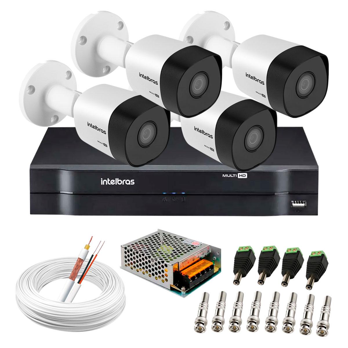 kit-4-cameras-vhd-3130-b-g6-dvr-intelbras-app-gratis-de-monitoramento-cameras-hd-720p-30m-infravermelho-de-visao-noturna-intelbras-fonte-cabos-e-acessorios