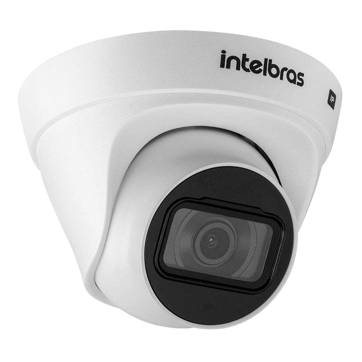 Kit 4 Câmeras VIP 1020 D G2 + NVR Intelbras + App Grátis de Monitoramento, Câmeras HD 720p 20m Infravermelho de Visão Noturna Intelbras  - Tudo Forte