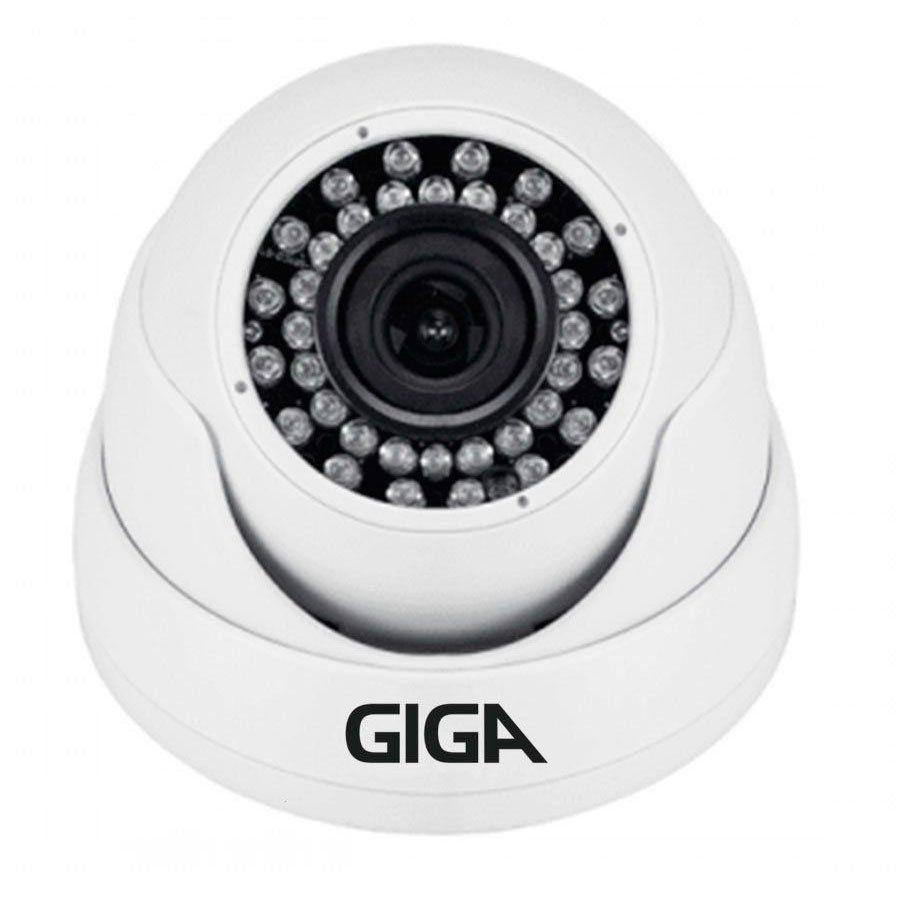 Kit Giga Security 6 Câmeras 2K GS0041 + DVR com HD 1TB Seagate + Acessórios