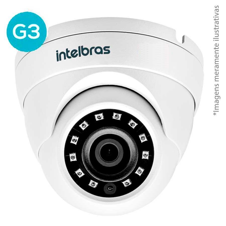 Kit 6 Câmeras de Segurança Full HD 1080p VHD 3220D G4 + DVR Intelbras Full HD + Acessórios