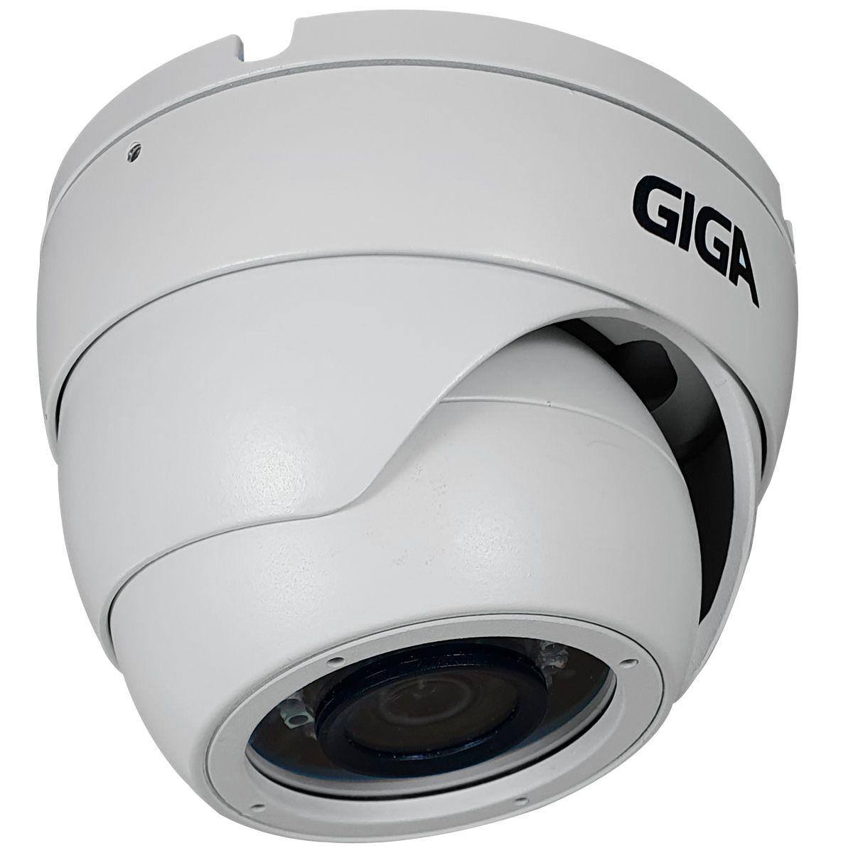 Kit HD 720p 06 Câmeras GS0021 + DVR Giga Security + Acessórios  - Tudo Forte