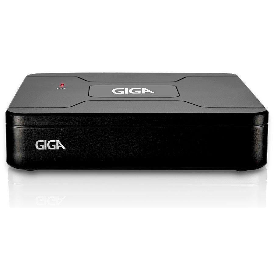 Kit HD 720p 08 Câmeras GS0021 + DVR Giga Security + Acessórios  - Tudo Forte