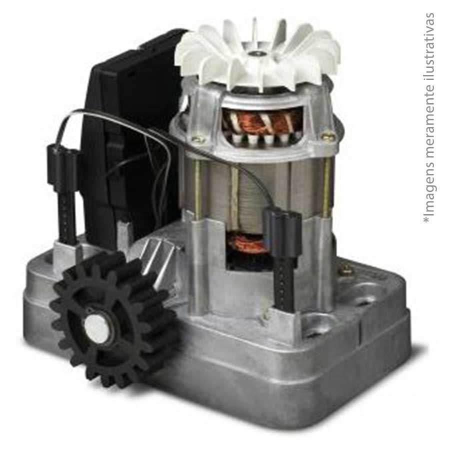 Kit Motor Portão Eletrônico 1/3 MAXI PLUS Speedy RCG 127V, com 3 Cremalheiras