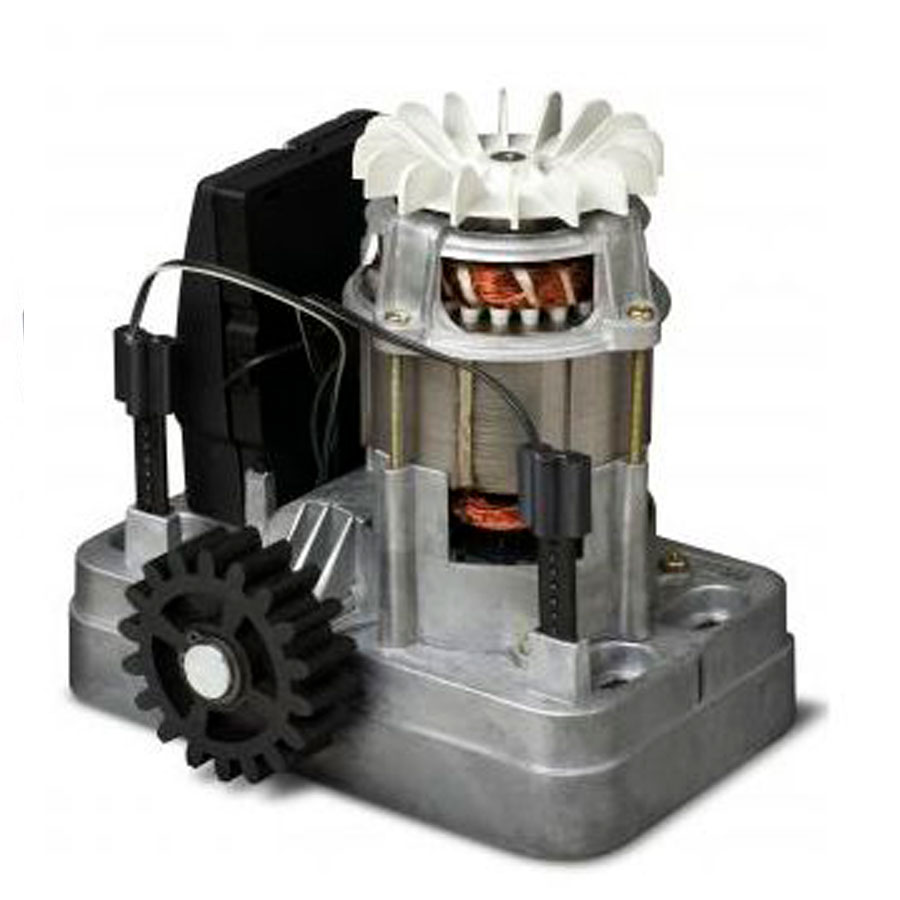 Kit Motor Portão Eletrônico 1/4 MAXI Speedy RCG 127V, com 3 Cremalheiras
