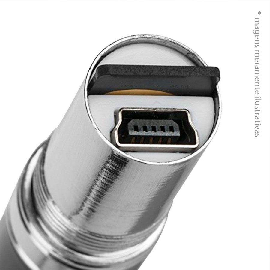 Kit Caneta Espiã Mini Câmera Escondida Camuflada + Cartão de Memória Micro SD 32GB